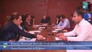 Concejo Municipal Miércoles 23 de Enero 2019 - El Quisco