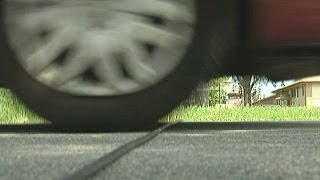 Ever notice the thin rubber strips lying across some roadways? Find...