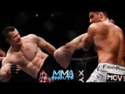 Brendan Schuab Vs Mirko Cro Cop CRAZY KO! | MMA SHOUTS