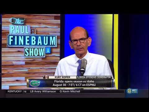 The Paul Finebaum Show 12/12/2017 - Paul Finebaum...Golf Analyst
