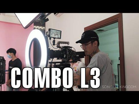 GIẢI PHÁP ÁNH SÁNG QUAY VIDEO CHUYÊN NGHIỆP DÀNH CHO STUDIO VÀ LIVESTREAM - COMBO L3 - SƠN BỰ REVIEW