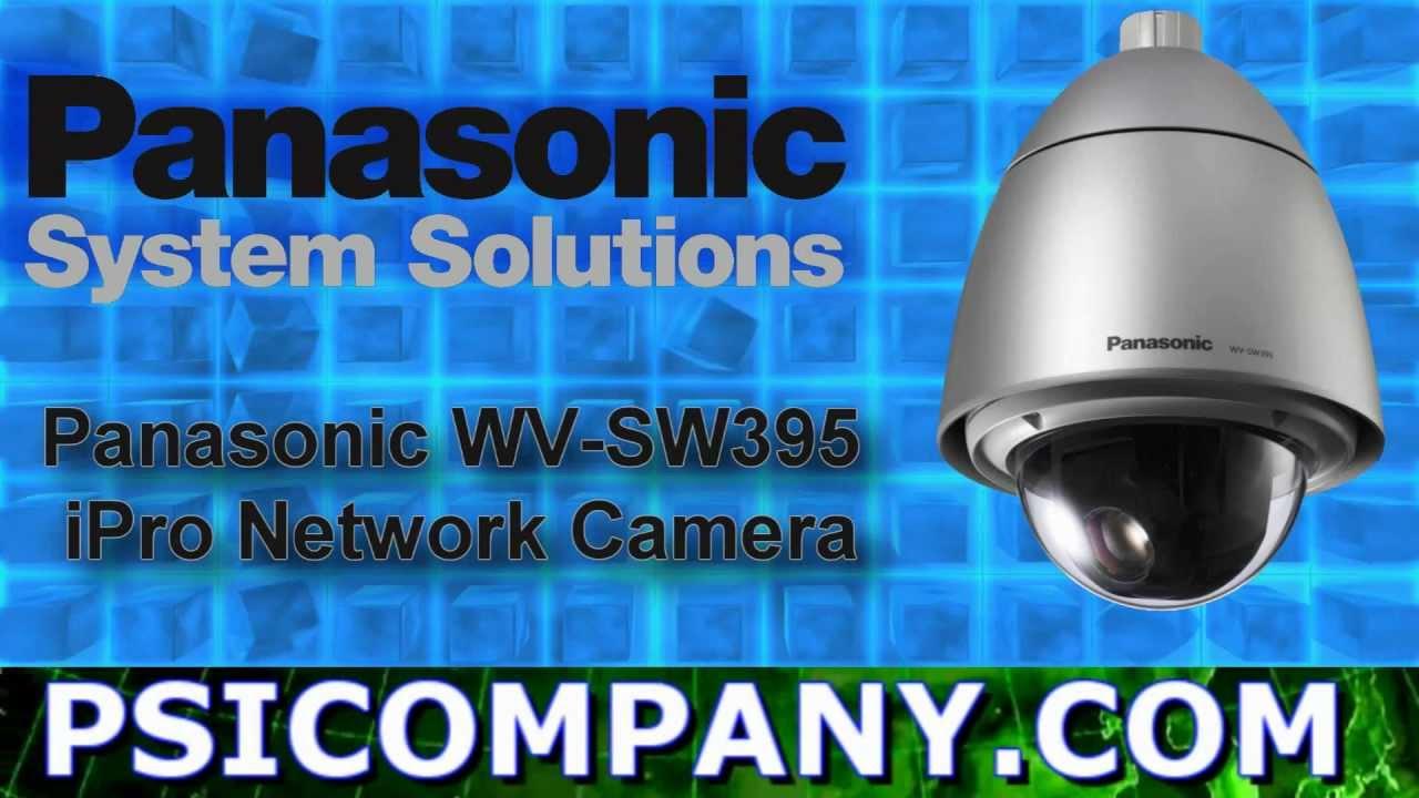 Panasonic WV-SW395 Network Camera Driver for Windows 10