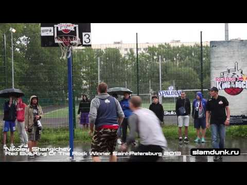 Nikolay Shangichev - Red Bull King Of the Rock champion in Saint-Petersburg 2013