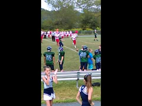 Erwin middle vs. Cane Creek middle school football