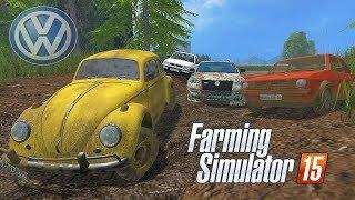 Carros da Volkswagen no Atoleiro - Farming Simulator 2015