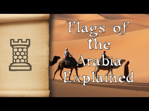 Arabian Flags Of The Middle East Explained