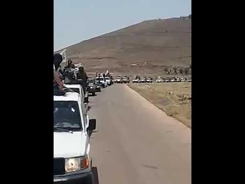 ابطال الجيش السوري الحر في درعا نوى..مع اغنية لبيك يا رسول الله..حالات واتس اب