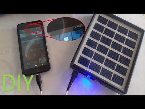 Cheap, Good, Solar and DIY PowerBank __ part 01