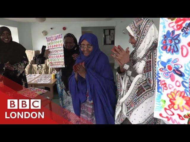 Celebrating Somali culture through art - BBC London