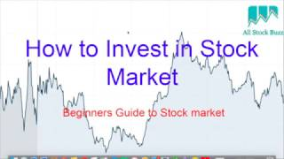 how to invest in stock markets for beginners india