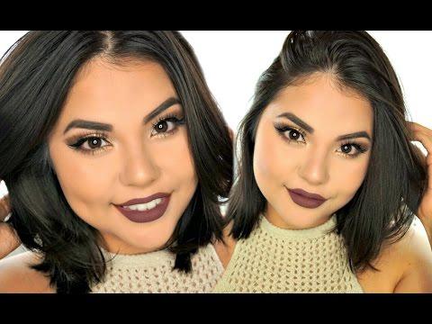 Fall Glam Makeup Look | Ft. Love Bite Kylie Lip Kit