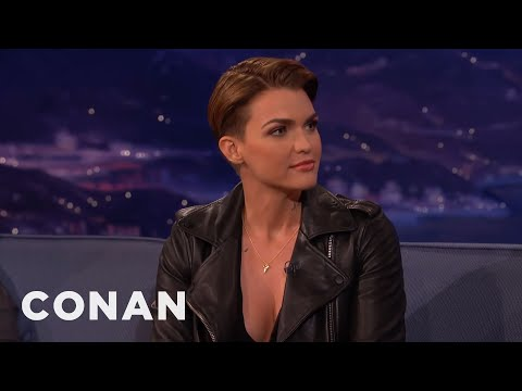 Thumbnail: Ruby Rose On Looking Like Justin Bieber - CONAN on TBS