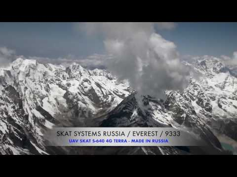 Russian drone soars over Everest