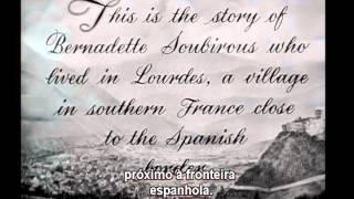 21-12-1943 - A Canção de Bernadette - The Song of Bernadette - abertura do filme BR