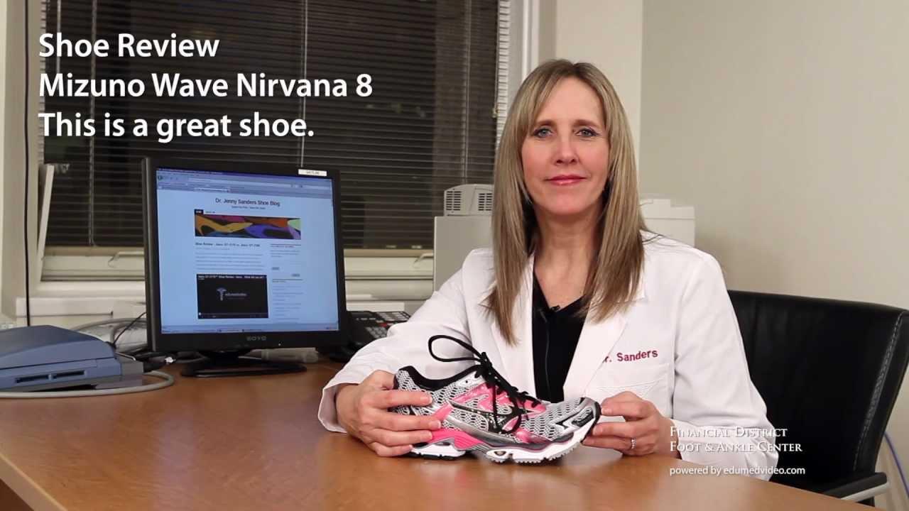 e347945babf Mizuno Wave Nirvana 8 Shoe Review - Dr Jenny Sanders - FDFAC - San  Francisco Podiatrist - YouTube
