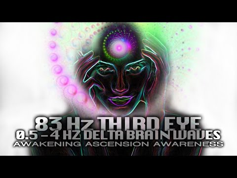 THIRD EYE ACTIVATION 83 Hz ☝ Delta Brain Waves ☝ Divine Knowledge ☝ Miracle Healing ☝ Inner Being