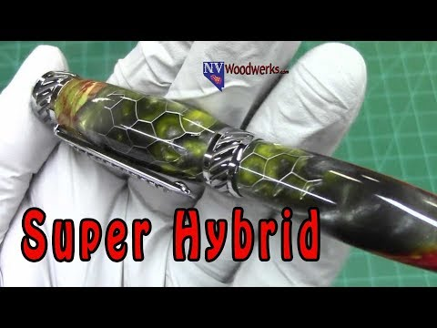 Super Hybrid Pen Blanks | Dunkin Junk