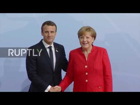 Germany: Merkel greets Erdogan, Macron and Xi as G20 summit kicks-off in Hamburg