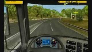 euro truck simulator gameplay part 1