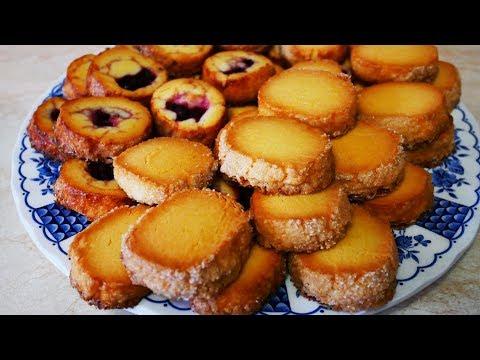 Простой рецепт ВКУСНОГО печенья САБЛЕ с вишней