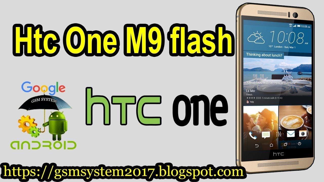 Htc One M9 flash