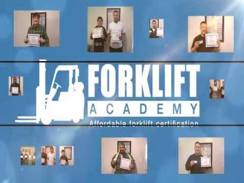 How do I get OSHA-certified Forklift training?