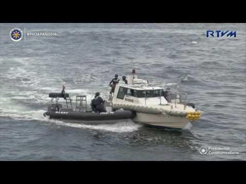 Visit to Japan Coast Guard (JCG) 10/27/2016