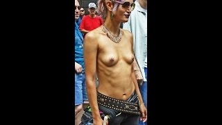 Topless Parade in New York Part II filmed on Sunday August 23, 2015
