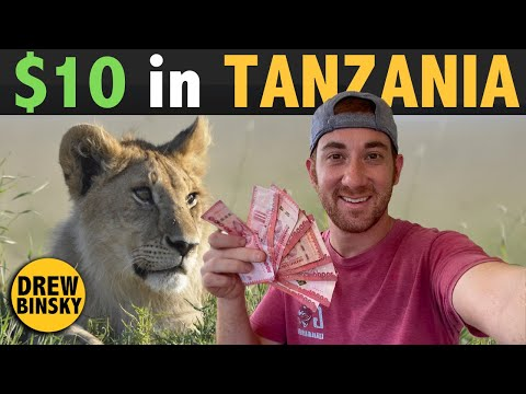 What Can $10 Get in TANZANIA? (East Africa)