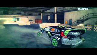 Dirt 3 Free roaming in DC Compound! Gymkhana!