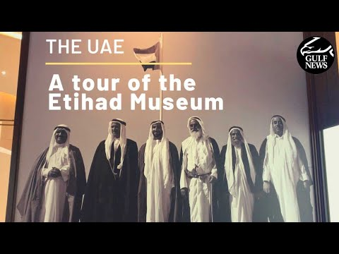 Inside the Etihad Museum and Union House in Dubai