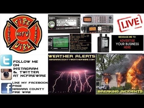 12/08/18 AM Niagara County Fire Wire Live Police & Fire Scanner Stream