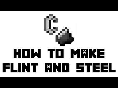 Minecraft Survival: How To Make Flint And Steel