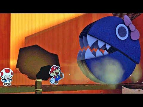 Paper Mario Color Splash #16: Gigante Princesa - Wii U Gameplay