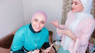 النهارده فرحي ياجدعاااان 💃جاتلي من المنيا مخصوص تجهزني كميه زغاريط في الفيديو رهيبه
