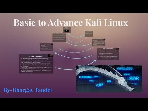 Course on Basic To Advance Kali Linux