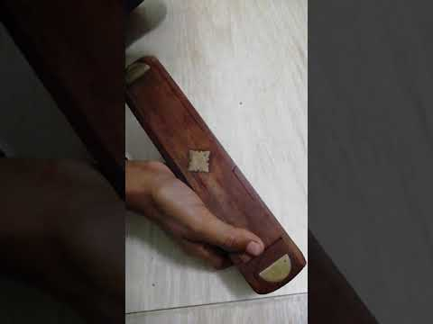 Wooden pencil box(130 rupees)....