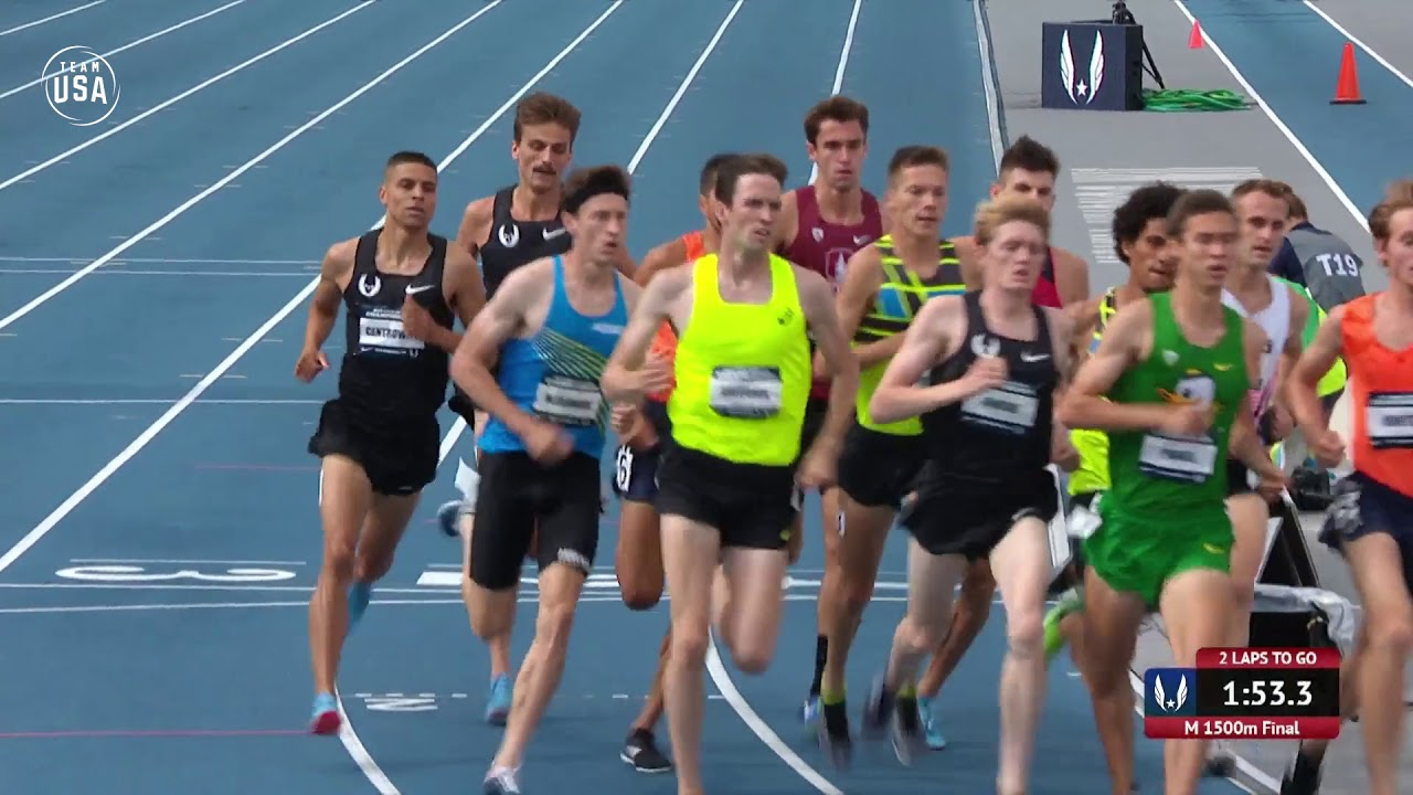 b842da160bd5 Matthew Centrowitz Wins Fifth Outdoor 1500-Meter Title - YouTube