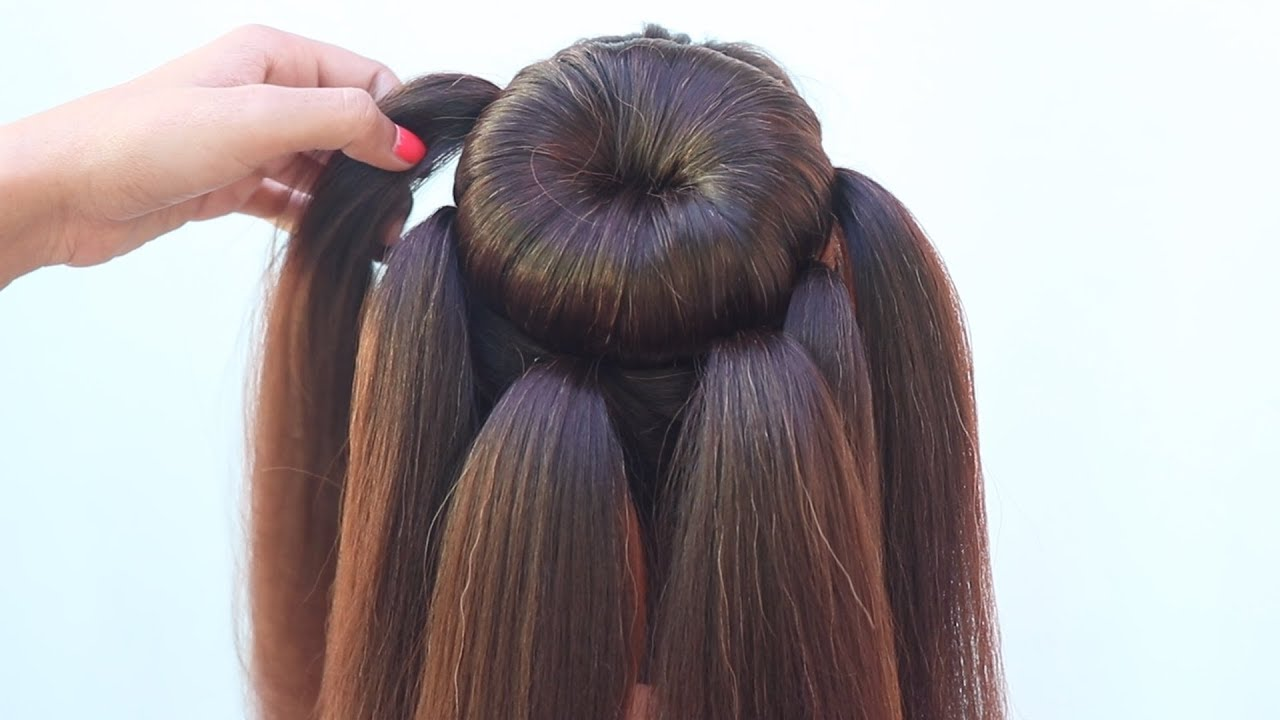 New Hairstyle For Party Hairstyles For Girls New Hairstyle For Girls Easy Hairstyles Youtube