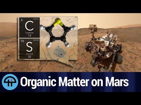 NASA Finds Organic Matter on Mars