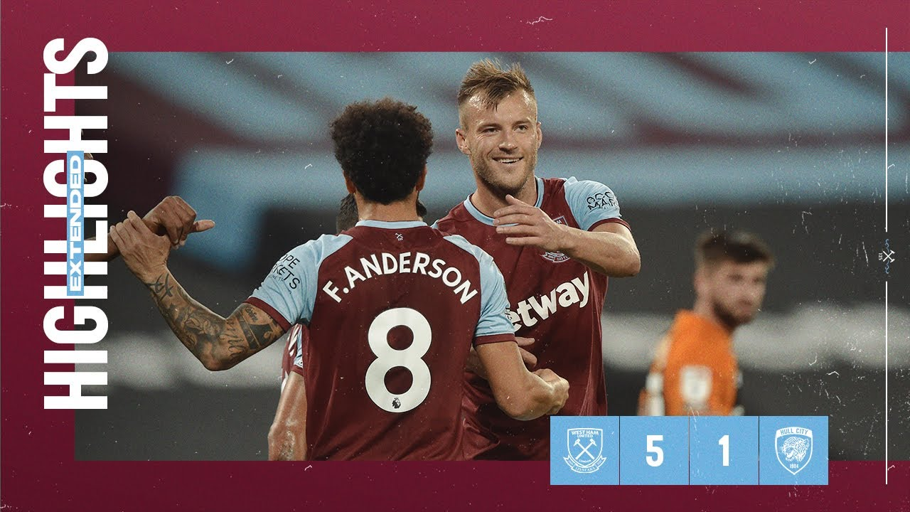 EXTENDED HIGHLIGHTS | WEST HAM UNITED 5-1 HULL CITY