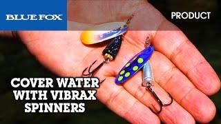 Silver Blue Fox     Vibrax Classic  #1    Silver