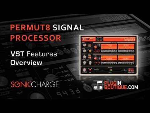 Sonic Charge Permut8 VST Plugin - Features Overview