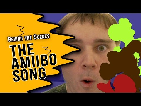BEHIND THE SCENES (The Amiibo Song)