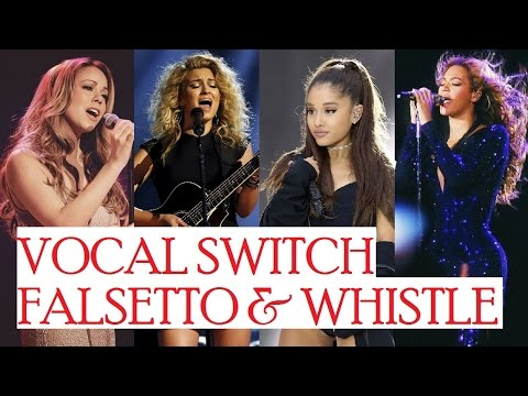 VOCAL SWITCH - Chest Voice to Falsetto/ Head Voice & Whistle