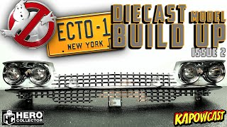 GHOSTBUSTERS ECTO-1 DIECAST BUILD | EAGLEMOSS KIT 2
