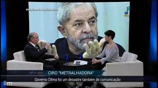 """Ciro Gomes: """"Temer é o testa de ferro do Eduardo Cunha!"""" - A entrevista para Mariana Godoy na Rede TV"""