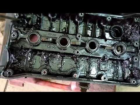 Что будет если не менять масло в двигателе. ШЕВРОЛЕ КРУЗ пробег 40 000 км