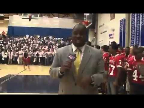 Oakland High School Gears Up for Rivalry with Pep Rally