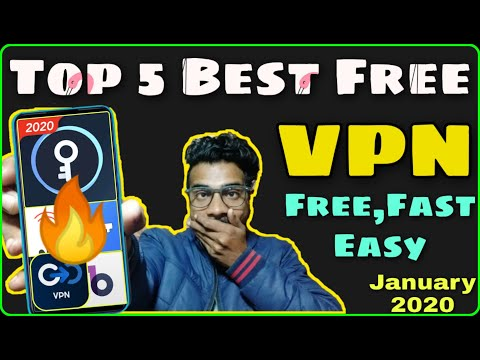 Best Vpn For Android In 2020💥| Top 5 Unlimited, Free, Fast & Safe Vpn To Protect Your Privacy 🔏